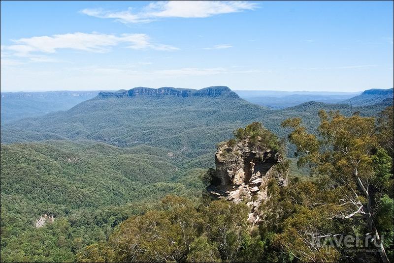 Голубые горы, Австралия / Фото из Австралии