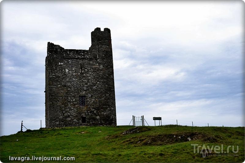 Замок Аудлей (Audley's Castle), Северная Ирландия / Фото из Великобритании