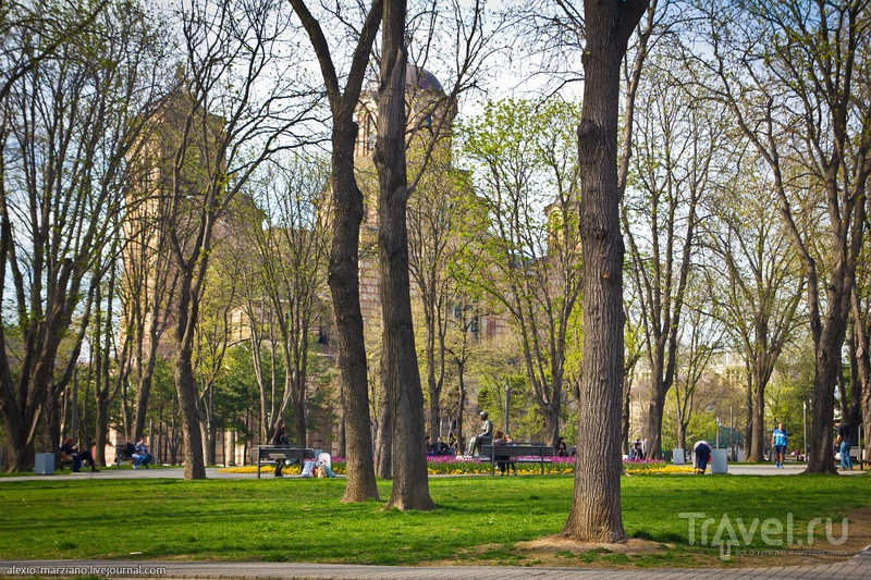 Парк Ташмайдан в Белграде, Сербия / Фото из Сербии