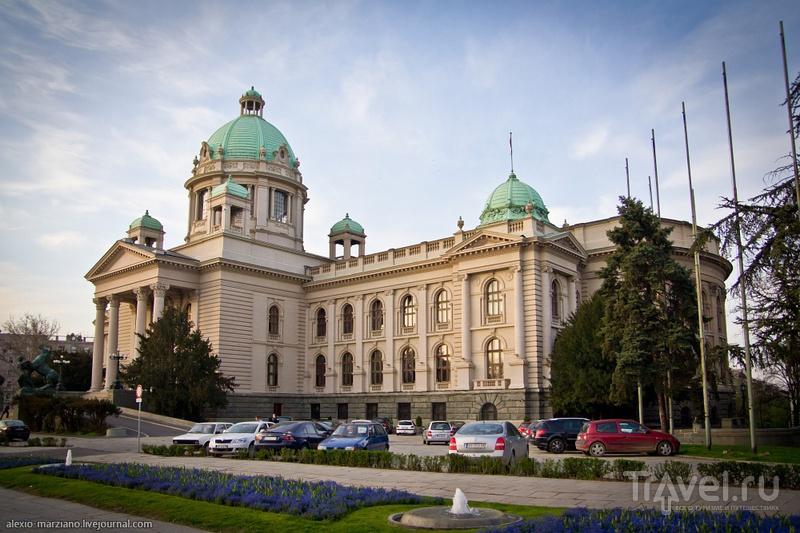 Парламент Сербии в Белграде, Сербия / Фото из Сербии
