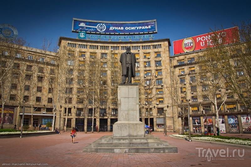 Памятник Николе Пашич в Белграде, Сербия / Фото из Сербии