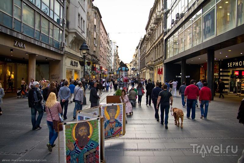 Улицы и здания Белграда / Фото из Сербии