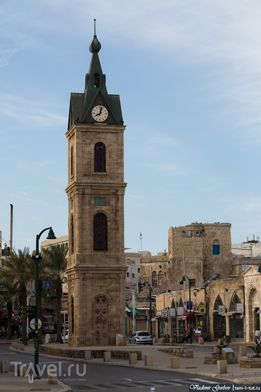 Башня Хамида на площади Хаганы в Тель-Авиве, Израиль / Фото из Израиля