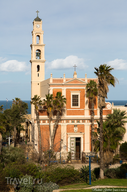 Церковь святого апостола Петра в Тель-Авиве, Израиль / Фото из Израиля