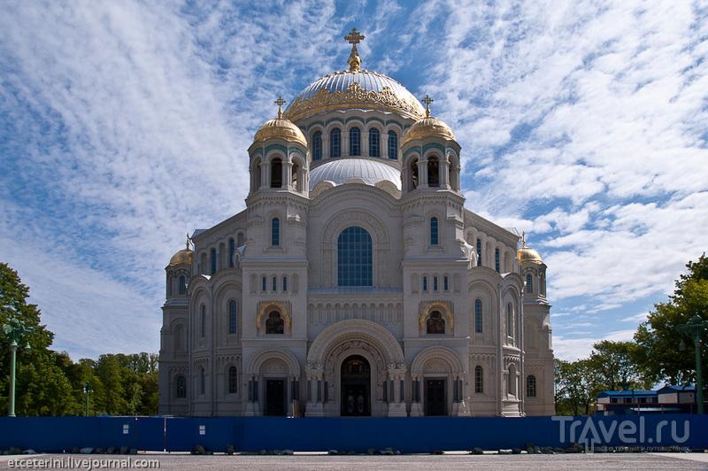 Морской Никольский собор в Кронштадте, Россия / Фото из России