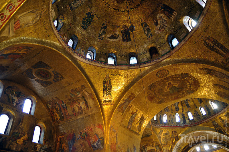 Мозаики венецианского собора Святого Марка / Фото из Италии