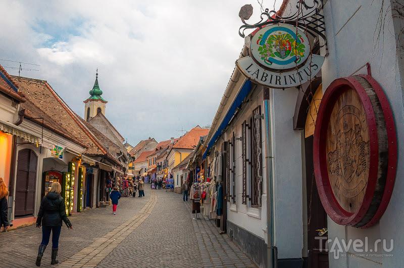 В городе Сентендре, Венгрия / Фото из Венгрии