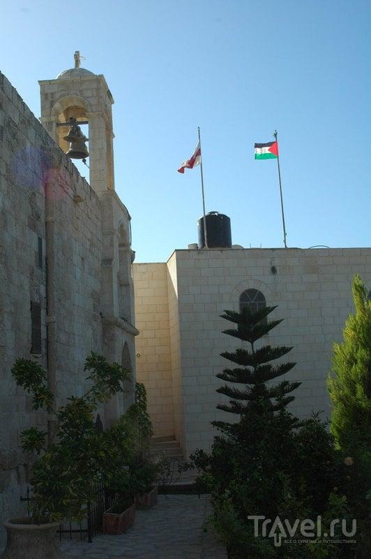 Церковь в Буркине или Новые достопримечательности древней Самарии / Палестина