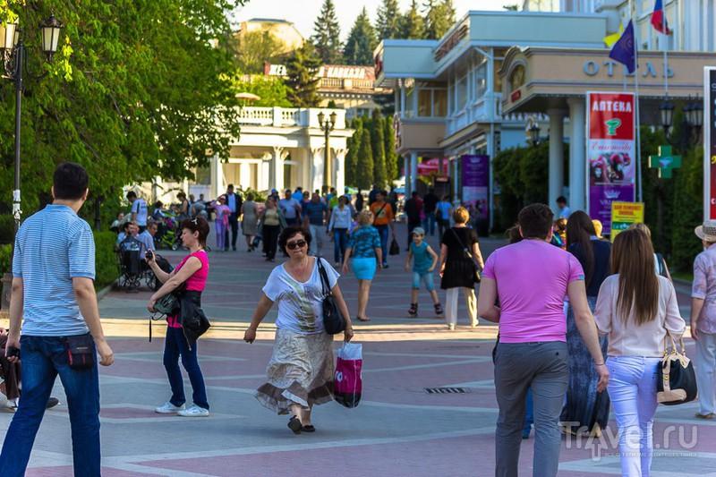 Курортный бульвар в Кисловодске, Россия / Фото из России