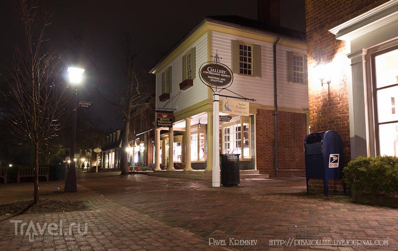 Вильямсбург - английская столица Америки / Фото из США