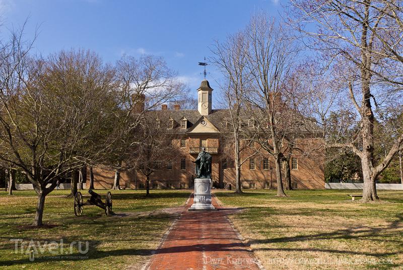 Колледж Вильяма и Мэри в Вильямсбурге, США / Фото из США