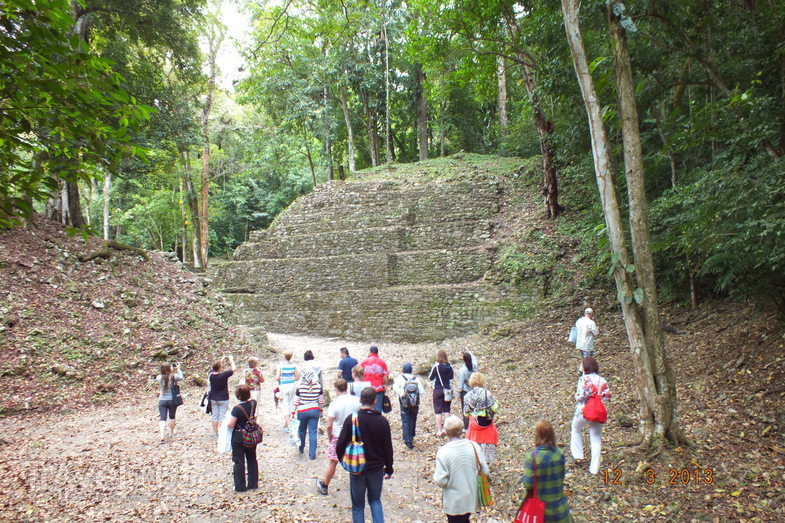 Мексика. Яшчилан / Мексика