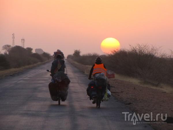 Вокруг света на велосипеде / Судан