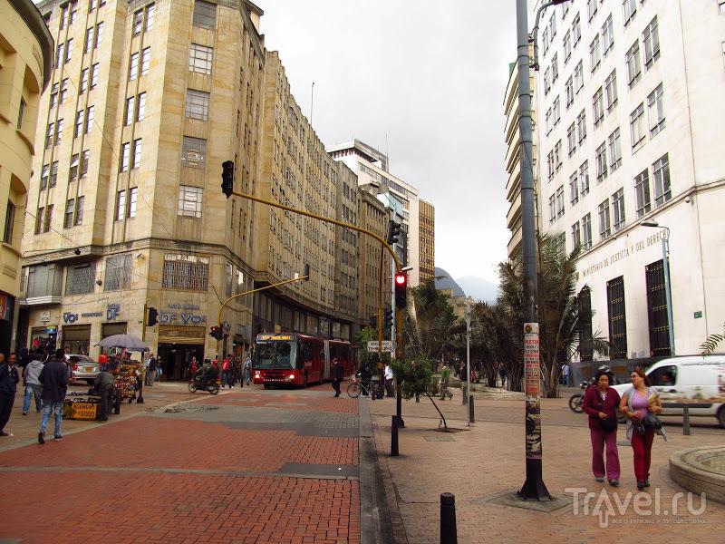 Богота - город, стремящийся к идеальному / Фото из Колумбии
