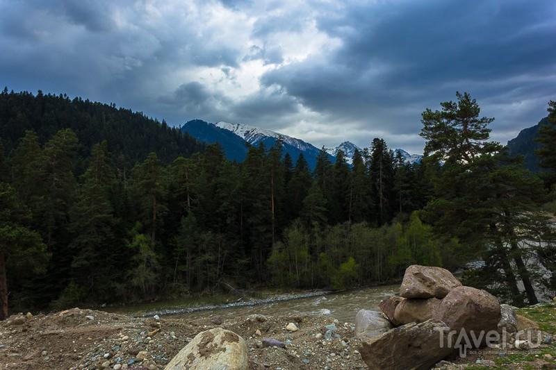 Долина реки Архыз, Россия / Фото из России