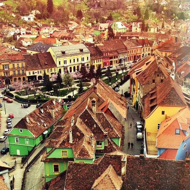 В городе Сигишоара, Румыния / Фото из Румынии