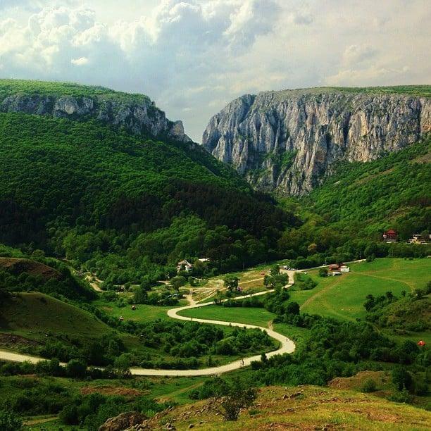 Ущелье Кеиле-Турзий, Румыния / Фото из Румынии