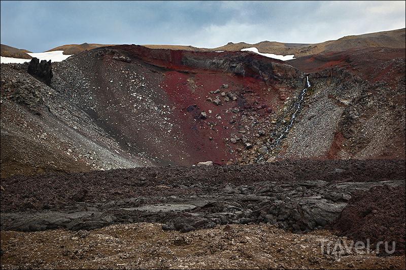 Склоны вулкана Аскьи, Исландия / Фото из Исландии