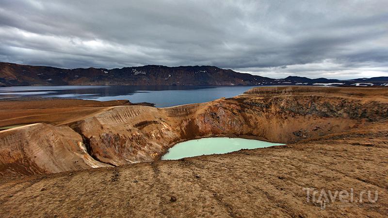 Озёра Эскьюватн и Вити, Исландия / Фото из Исландии