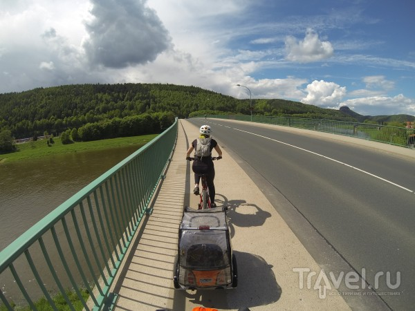 Веломаршрут Elberadweg / Германия