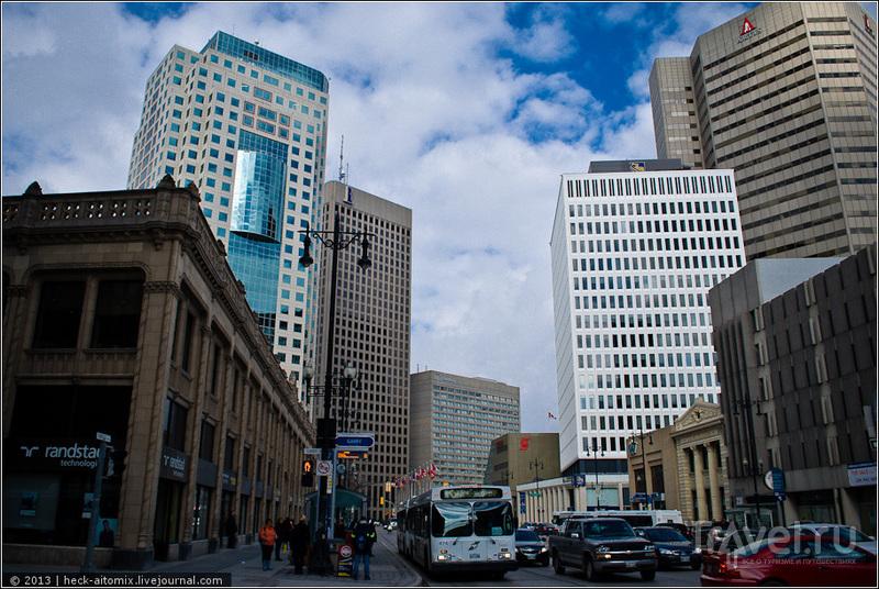 Curry Building в  Виннипеге, Канада / Фото из Канады