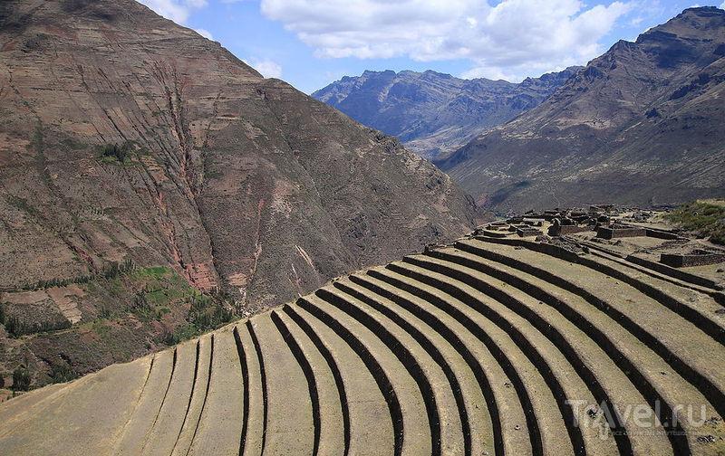 Руины крепости Писак, Перу / Фото из Перу