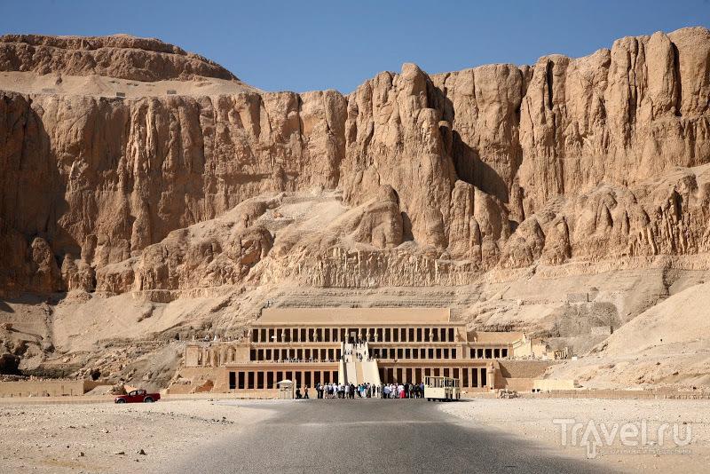 Поминальный храм Хатшепсут, Египет / Фото из Египта