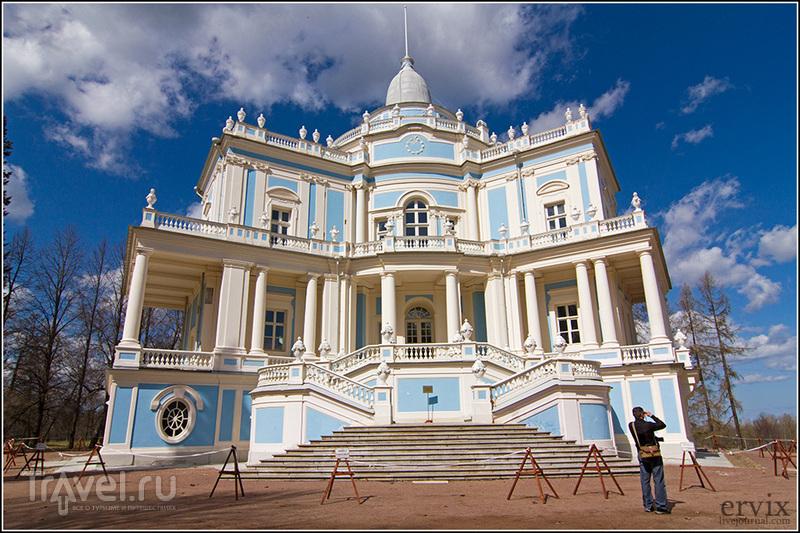 Павильон Катальной горки в Ораниенбауме, Россия / Фото из России