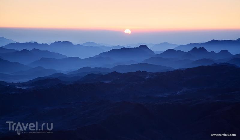 Гора Моисея, Египет / Фото из Египта
