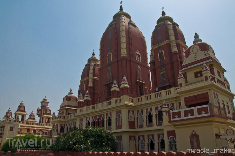 Храм Лакшми-Нарайян в Дели, Индия / Фото из Индии