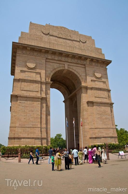 """""""Ворота Индии"""" в Дели, Индия / Фото из Индии"""