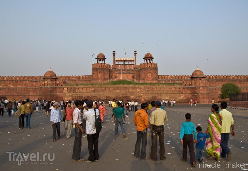 Красный форт в Дели, Индия / Фото из Индии