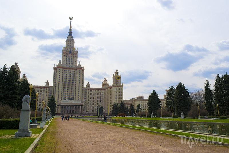 Московский государственный университет, Россия / Фото из России