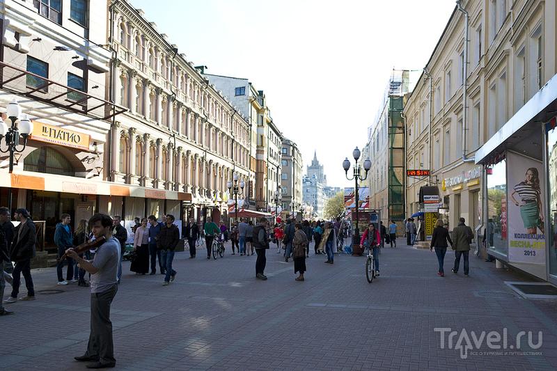 Улица Арбат в Москве, Россия / Фото из России