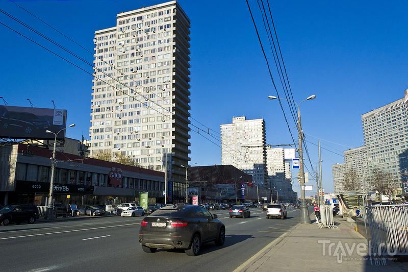 Улица Новый Арбат в Москве, Россия / Фото из России