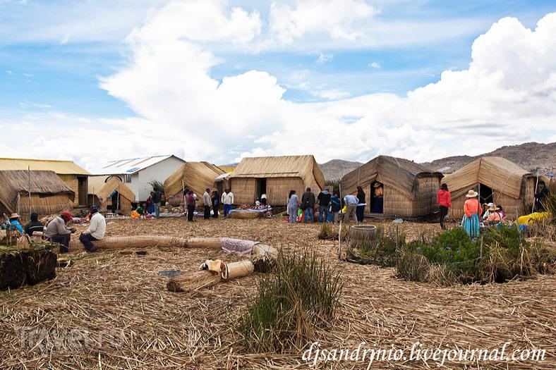 Озеро Титикака: на границе Перу и Боливии / Боливия