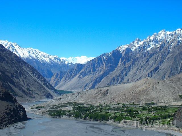 Озеро Аттабад / Фото из Пакистана