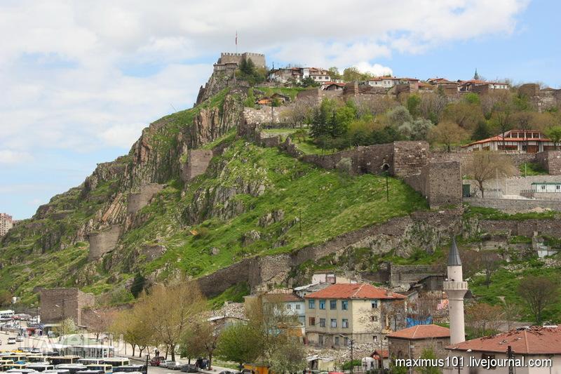 Ак кале - Белая крепость в Анкаре, Турция / Фото из Турции