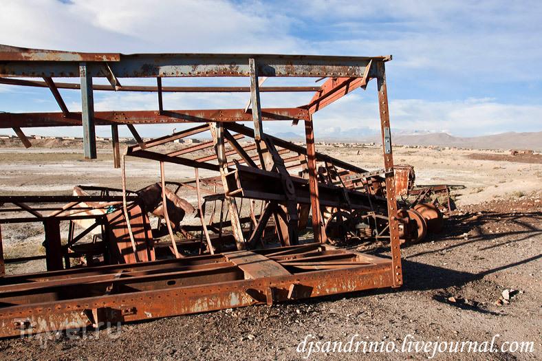 Uyuni, Train Cemetery / Боливия