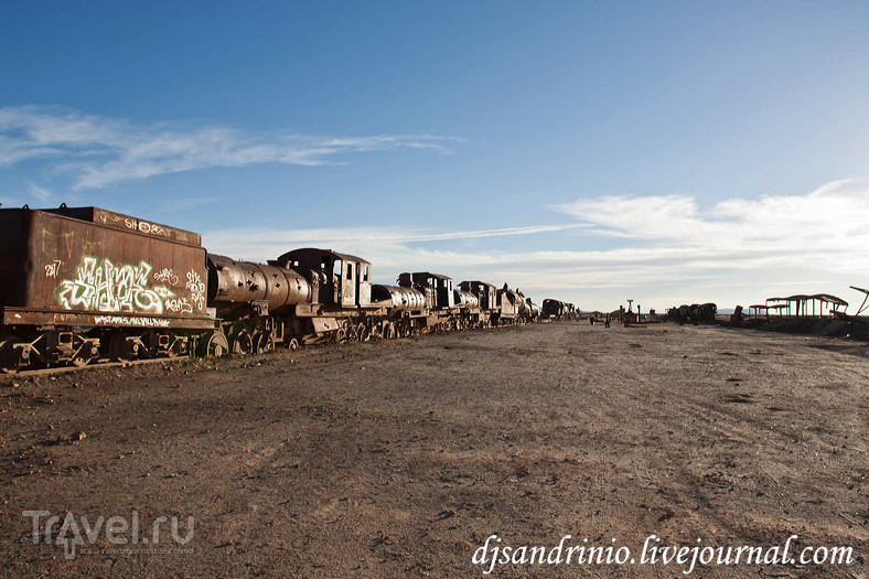 Uyuni, Train Cemetery / Боливия