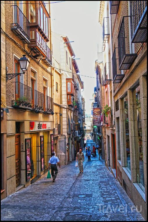 Утро в Толедо / Фото из Испании