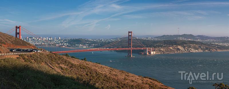 Золотые Ворота в Сан-Франциско / Фото из США