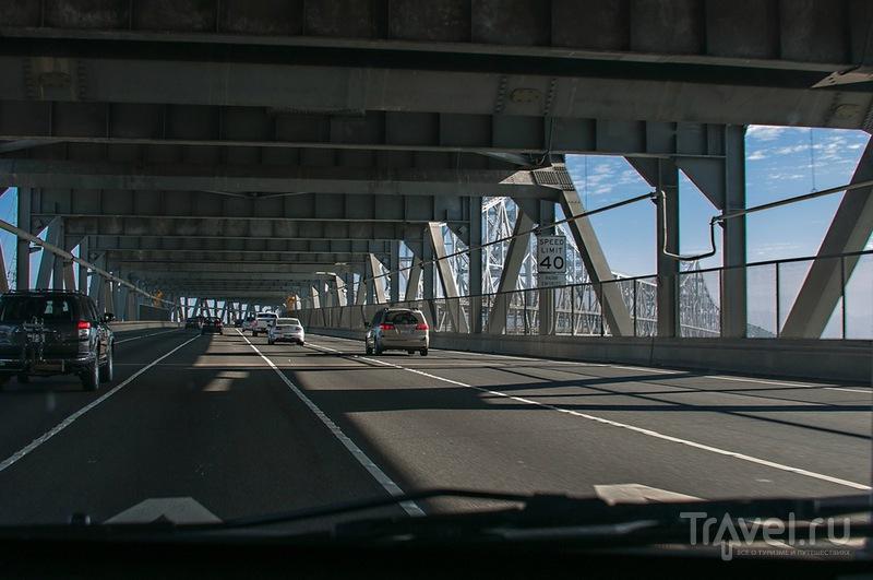 Bay Bridge в Сан-Франциско, США / Фото из США