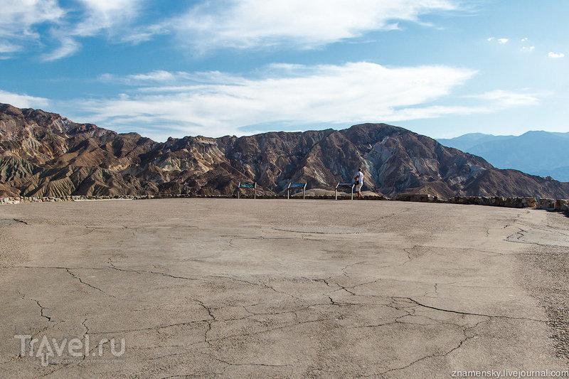 """Забриски-пойнт в национальном парке """"Долина Смерти"""", США / Фото из США"""