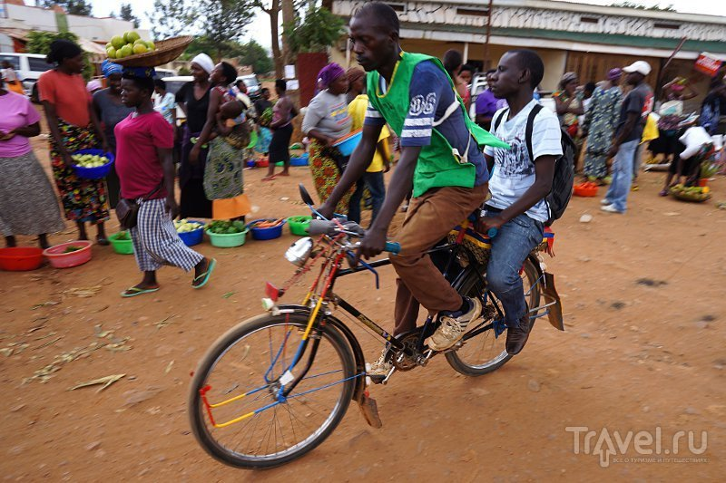 В городе Кигали, Руанда / Фото из Руанды