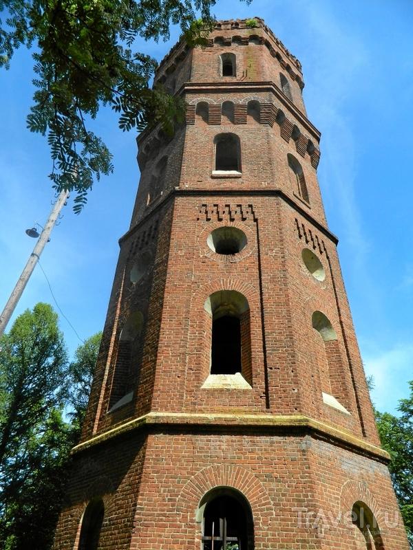 Водонапорная башня в Зарайске, Россия / Фото из России