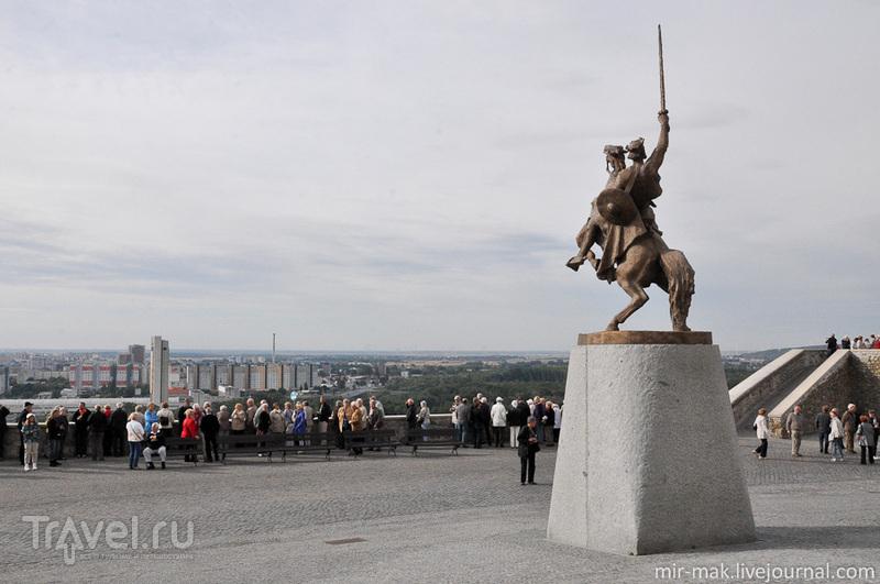 Памятник князю Святополку / Фото из Словакии