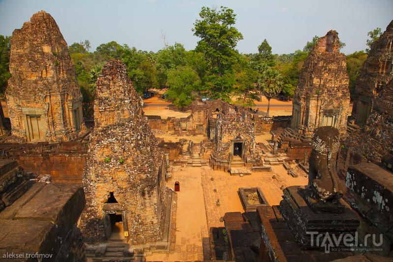 Храм Пре-Руп в Ангкоре, Камбоджа / Фото из Камбоджи