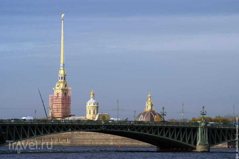 Петропавловская крепость в Петербурге, Россия / Фото из России