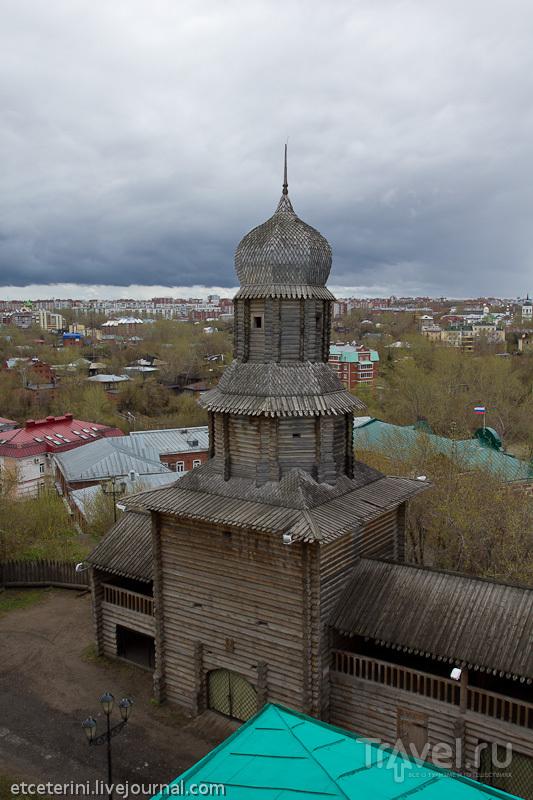 Спасская башня томской крепости, Россия / Фото из России